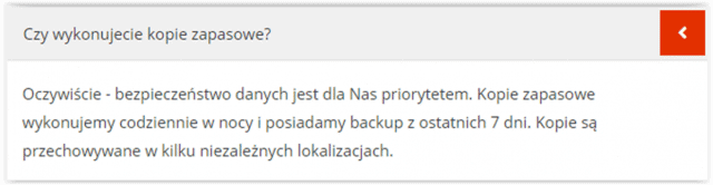 Backup poczty w Hostmark