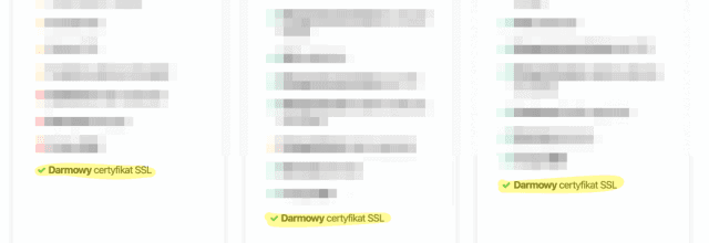 Darmowy SSL w Hostinger