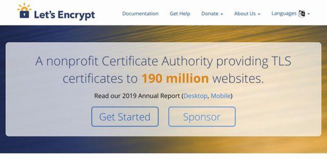 Darmowy certyfikat SSL Let's Encrypt