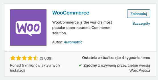WooCommerce - wtyczka do WordPressa i jej oceny